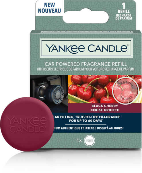 Yankee Candle Black Cherry Car Diffuser Nachfüller