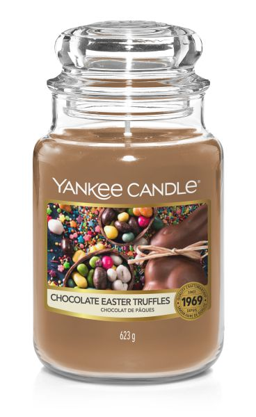 Chocolate Easter Truffles 623g Kerze von Yankee Candle