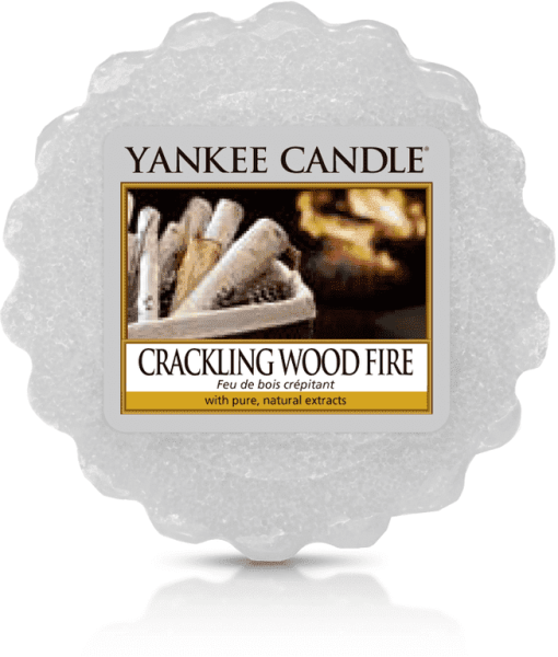 Yankee Candle Crackling Wood Fire Tart